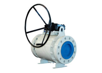 Casting Trunnion Mounted Ball Valve CLASS 150-300 With Silicone Free